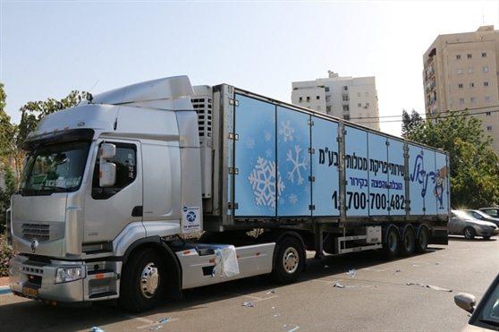 משאיות הובלה בקירור